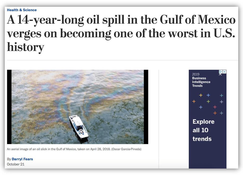 Taylor Energy - Washington Post
