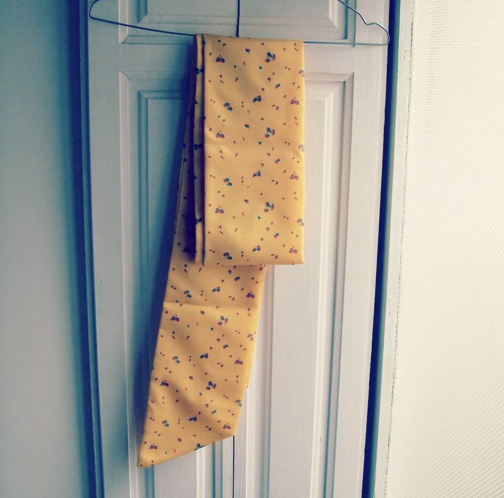 fabric sash