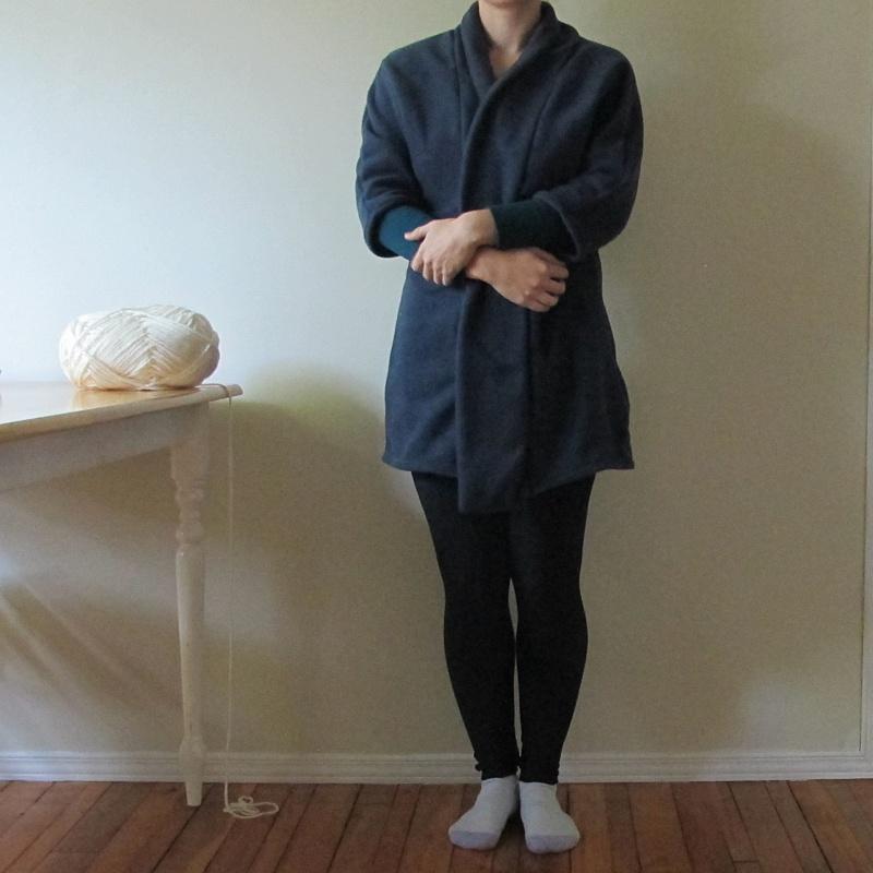 oslo cardigan house robe