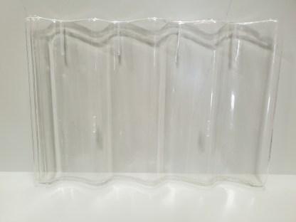 Pantile clear tile