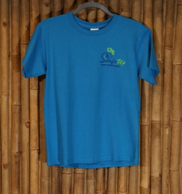 Kids Surf's Up Tee Shirt in Turquoise