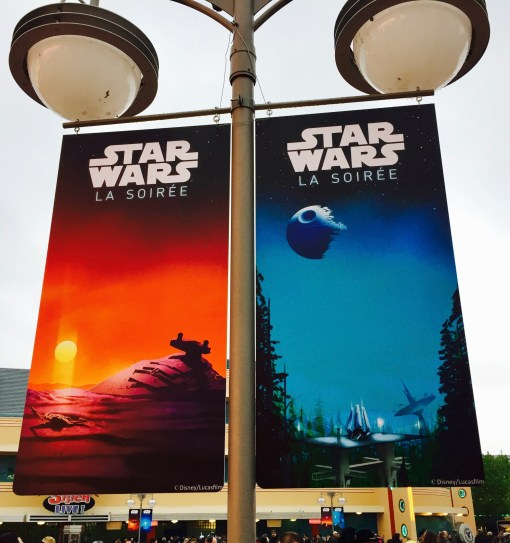 Star Wars Soiree special signage