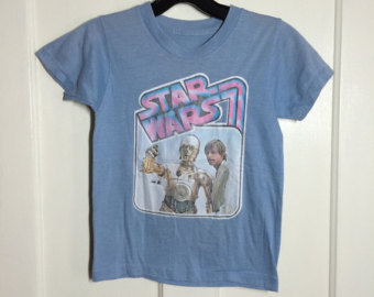 vintage Star Wars decal t-shirt Pic 4
