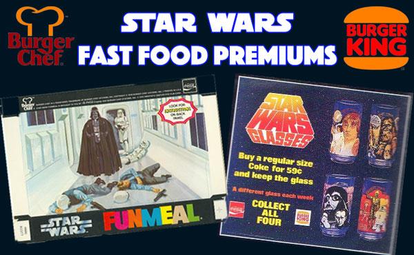 Star Wars Fast Food Premiums 1978