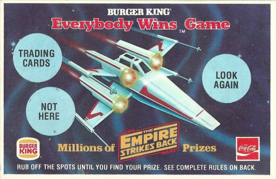 Star Wars Saga Fast Food Premiums: 1980-1981 -