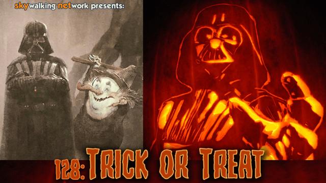 Trick or Treat Halloween Skywalking Through Neverland