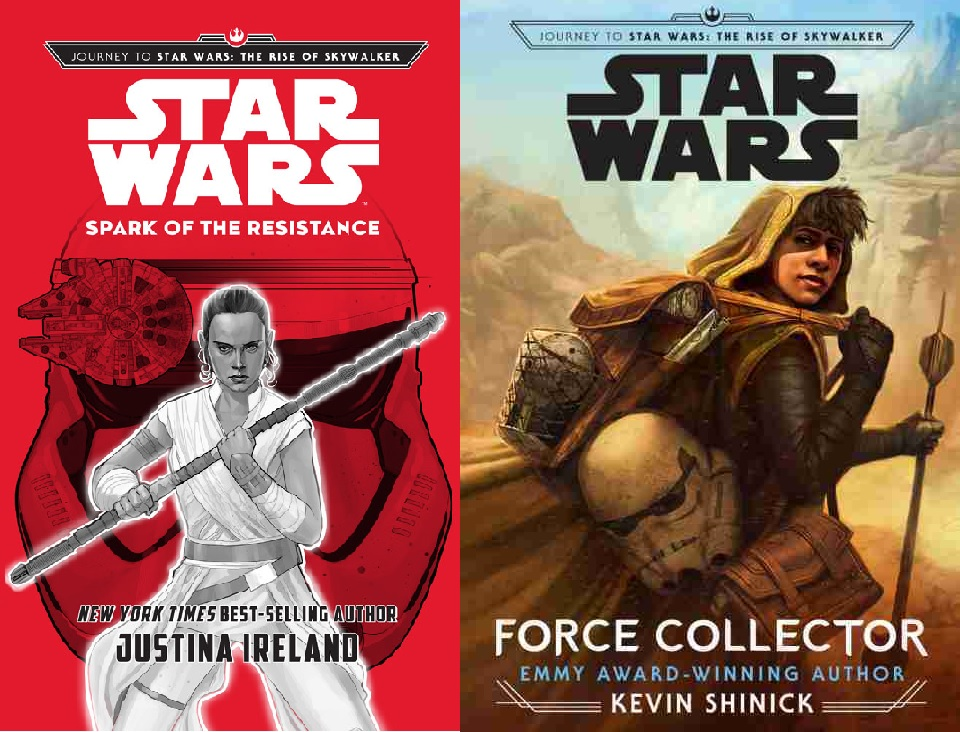 Star Wars Books For Teens Force Collector And Spark Of The Resistance