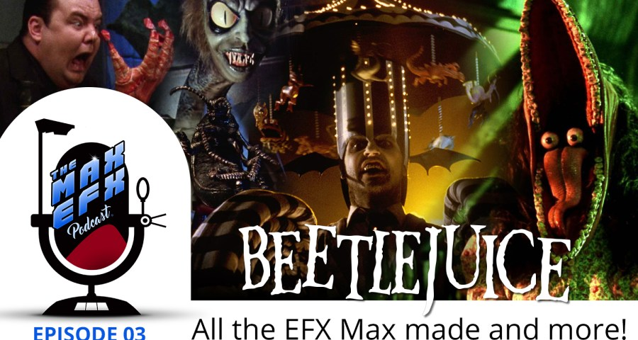 Beetlejuice EFX work
