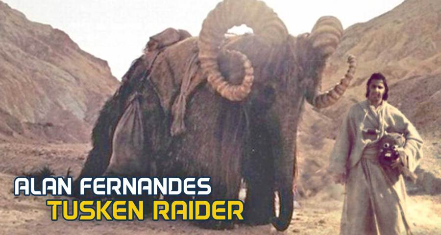 Alan Fernandes as Tusken Raider