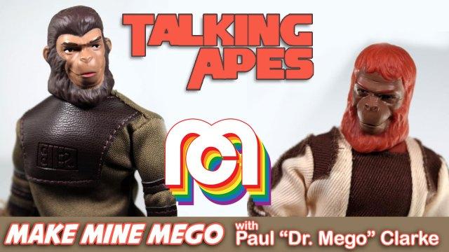 Talking Apes Make Mine Mego