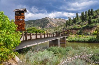 Bridge across the Colorado River - Photo credit: Snap Man