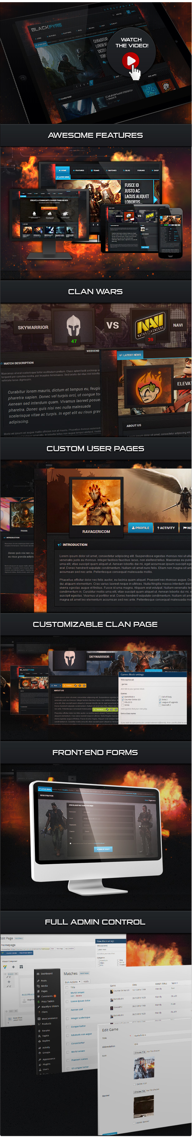 Blackfyre - Create Your Own Gaming Community - 2