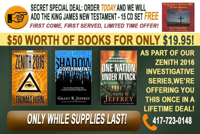 Zenith Bundle KJV Offer