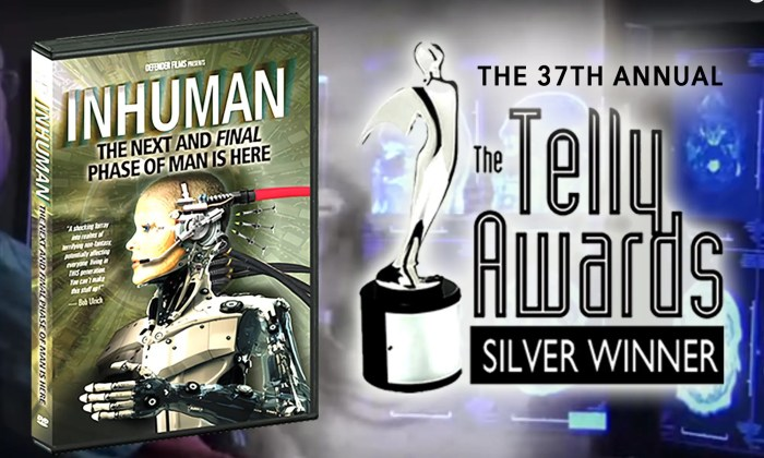 INHUMAN Telly Award Simple 37th