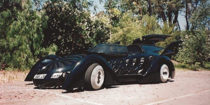 We created some special effects used on this bat mobile for the batman stunt show at Six Flags Magic Mountain