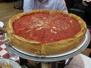 Genuine Chicago pizza