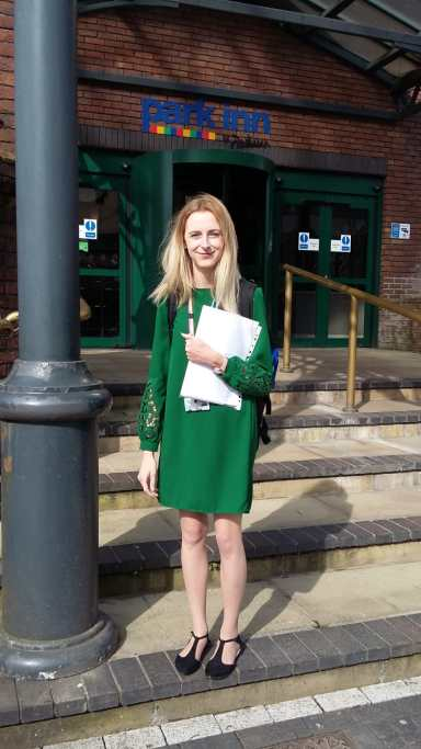 2019 Legal Division ECCA winner, Catherine Jenkins