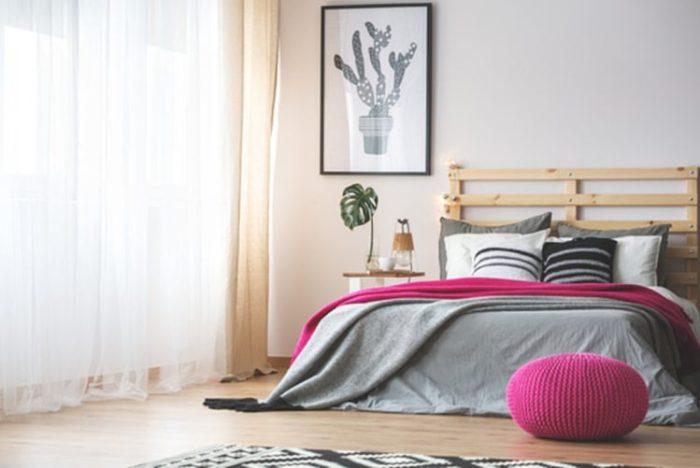 de slaapkamer is vooral een nuttige ruimte in huis omdat we die gebruiken om tot rust te komen en lekker te slapen maar wat we vaak vergeten is om de