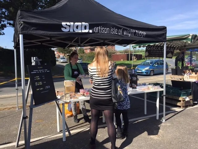 Slab Fudge Event @ I Love Wight Market, Brading 25/03/17