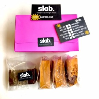 Slab Artisan Fudge Gift Box 1