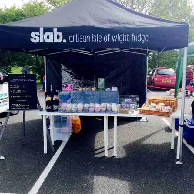 Slab Artisan Fudge Stall @ I Love Wight Market April 1