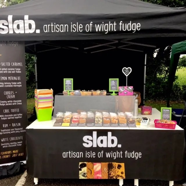 Slab Artisan Fudge Stall - I Love Wight Market, May