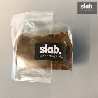Salted Chocolate Slab - Front