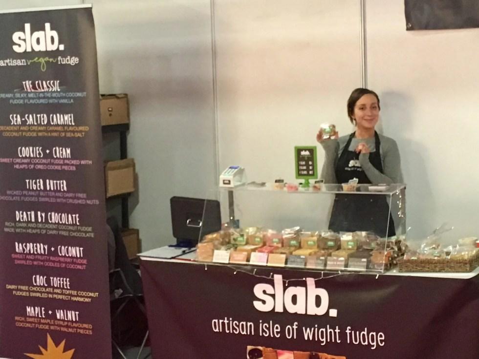 Slab Artisan Fudge - Vegan Life Live Manchester 1
