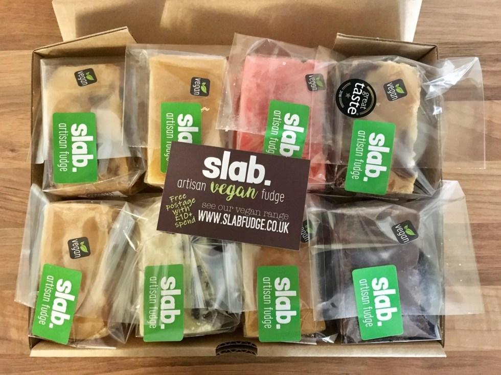 Slab Artisan Fudge Vegan Postage Box