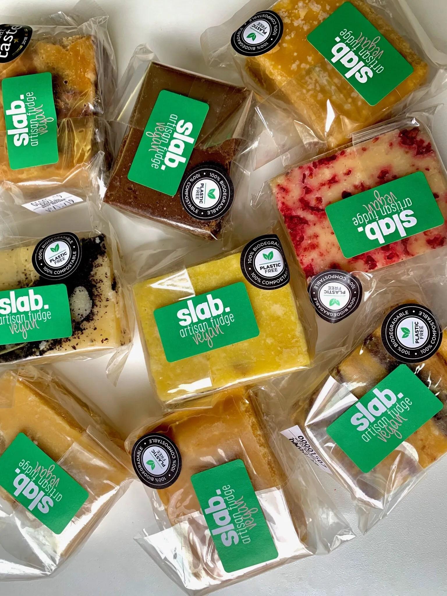 Slab Artisan Fudge - Vegan Slabs Long Image 1