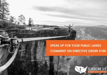 Director's Order #100 – National Park Service – Slackline U.S. Official Comment