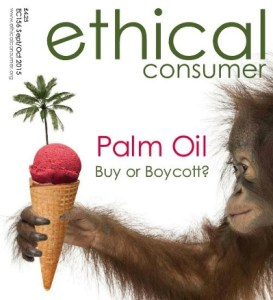 Ethical Consumer magazine September 2015