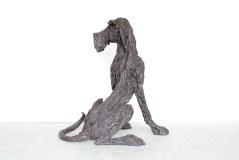Sitting Hound Dog II