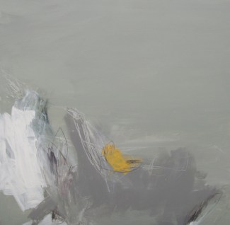 For One Week Only - Angela Charles acrylic-and-coloured-pencil-on-aluminium-panel-76x76cm £1,320