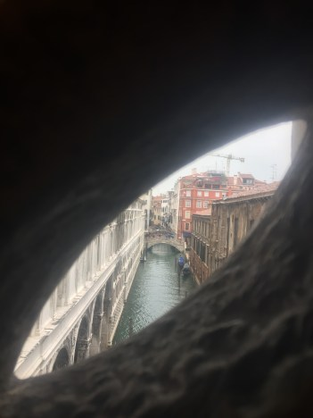 From the Bridge of Sighs