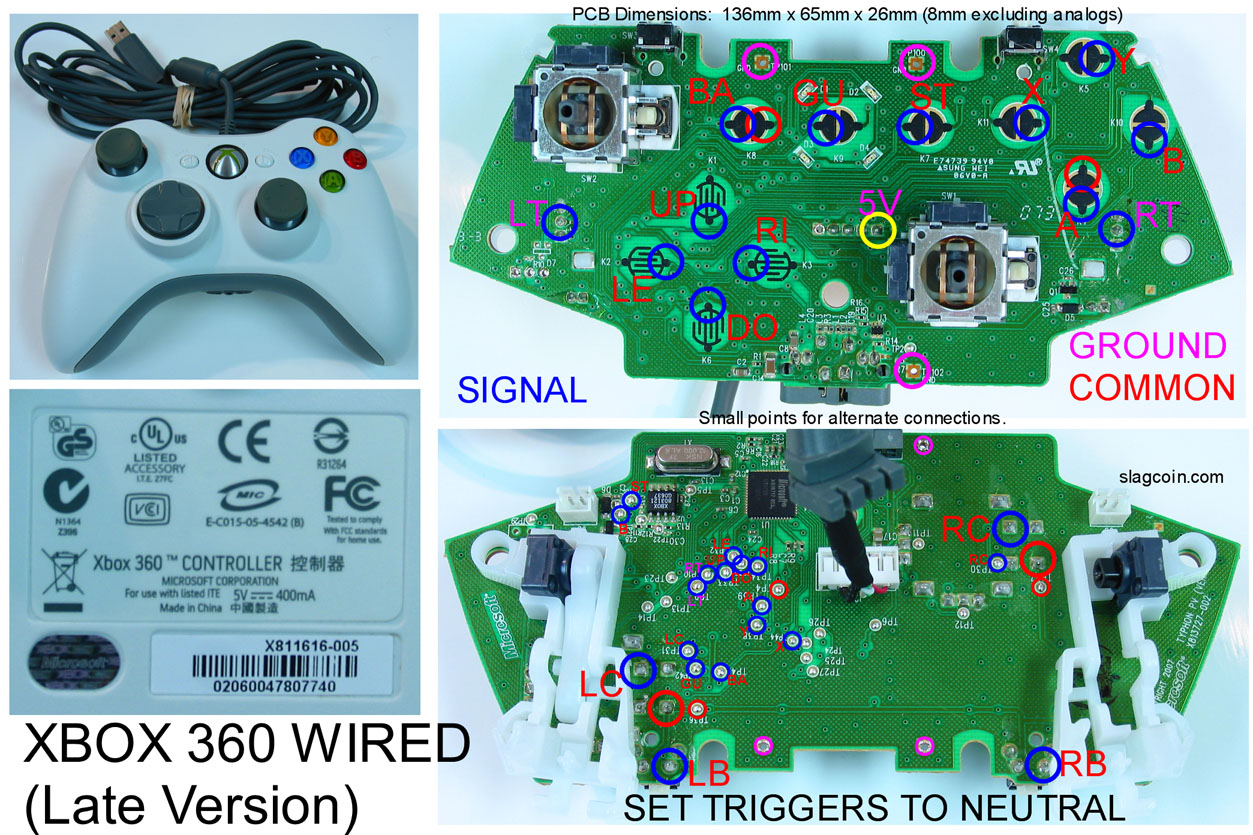 Xbox 360 wireless controller wiring diagram wiring diagram xbox 360 controller tutorial wireless now available, Xbox Wired Controller Wiring Diagrams
