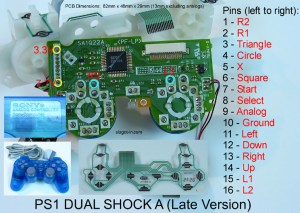 Joystick Controller  PCB and Wiring