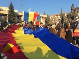 Centenáriumi román nemzeti ünnep Sepsiszentgyörgyön