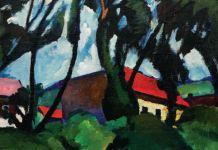 Festmény a Panteon kiállításon