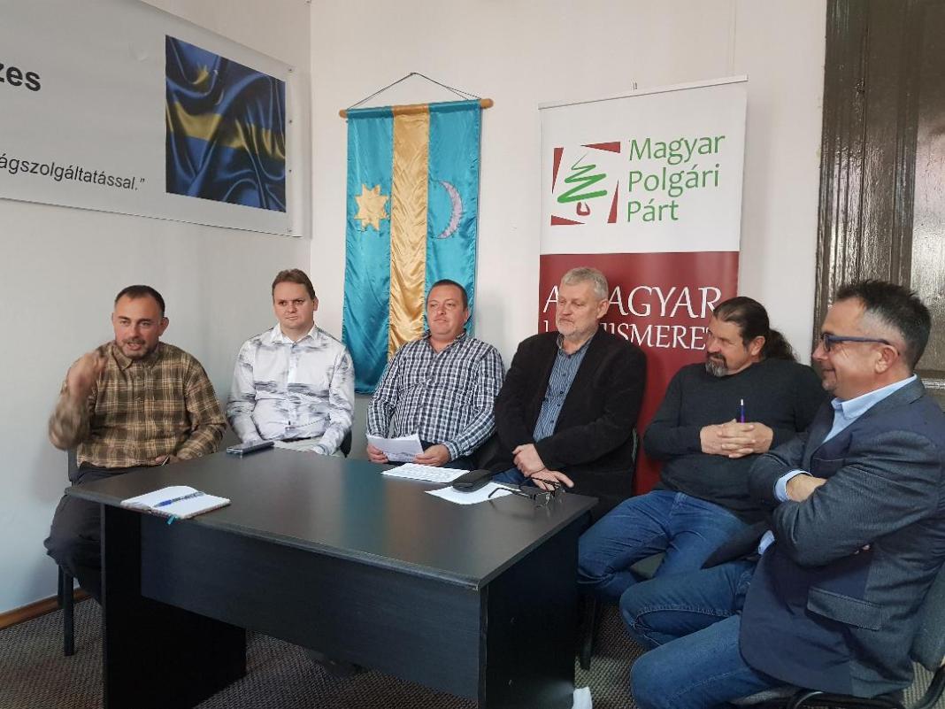 MPP háromszéki vezetői