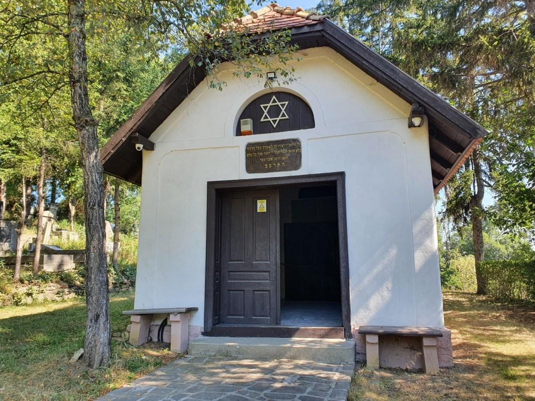 holokauszt emlékpark Sepsiszentgyörgyön