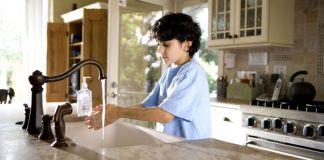 Kézmosás fontossága gyerekeknél