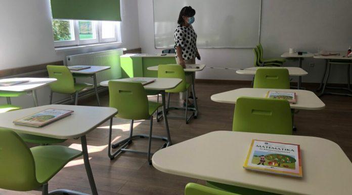 Korszerű tanterem az új Székely Mikó Kollégiumban