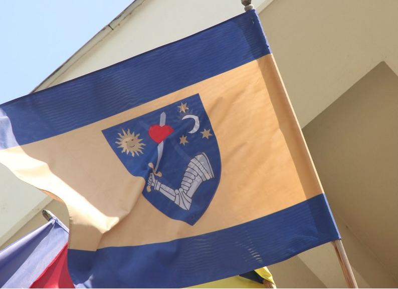 Kovászna megye zászlója