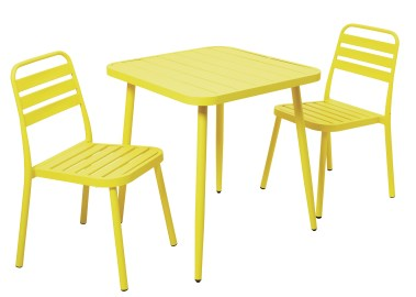 Homesense_Yellow Table and Chairs_€199.99