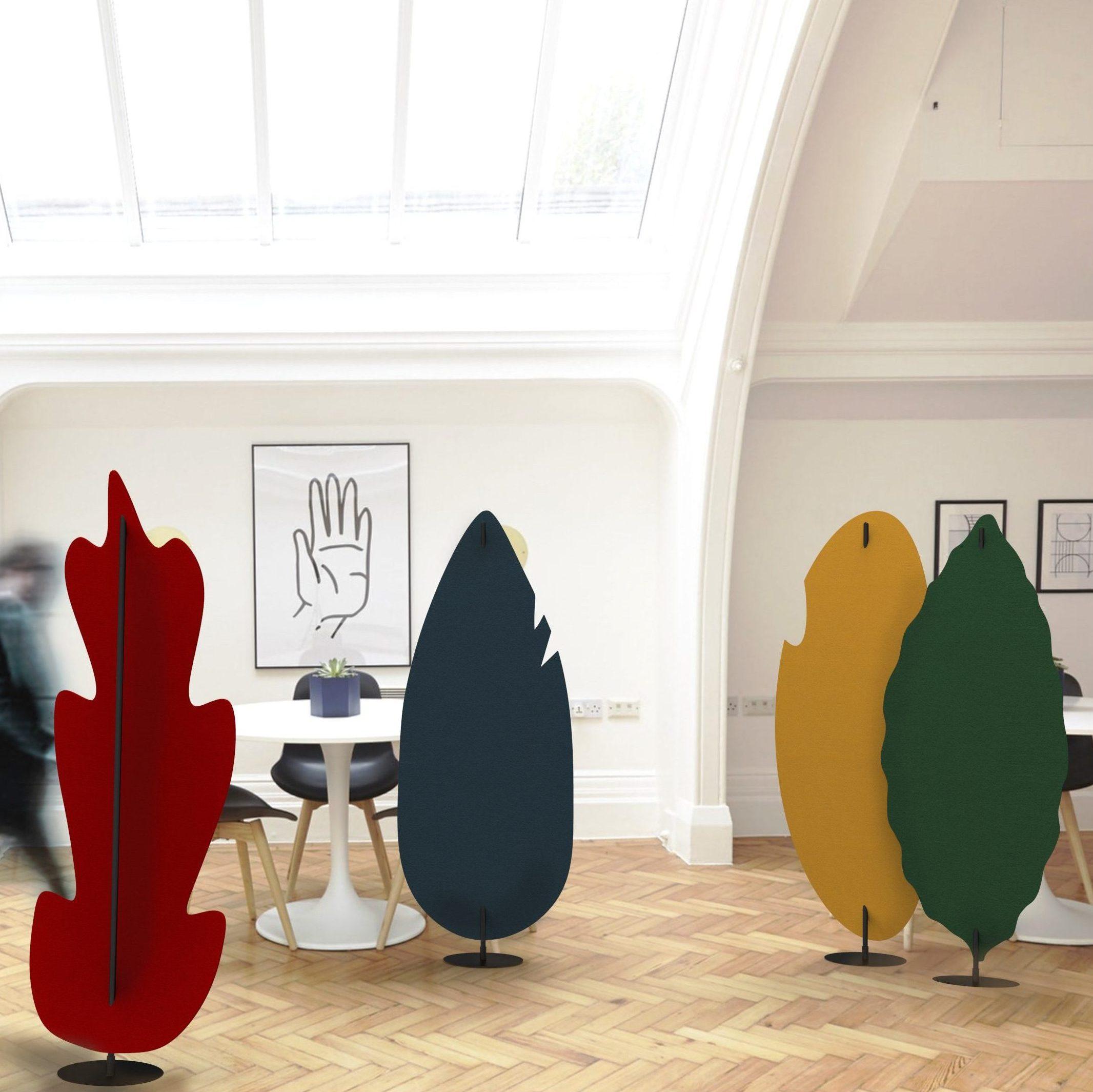 Daphne collectie in verschillende kleuren, met vormen van verschillende bomen