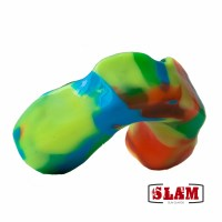 polychromatic custom-design mouthguard
