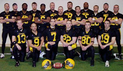 Iowa Blackhawks Team Photo