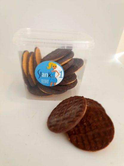 Koekjes stap 1 chocoladedip