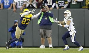 The Pack Remain Undefeated At Lambeau, Beat Chargers 27-20